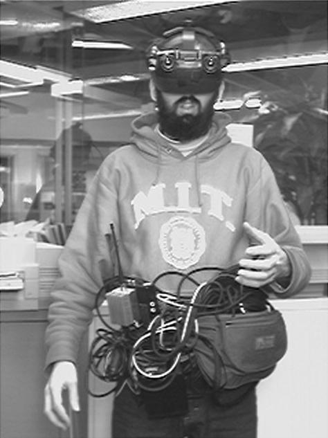 Steve Mann's 1990s wearable computer